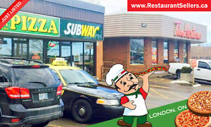 High Volume Pizza Store For Sale In Busy London Plaza