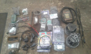 snowmobile parts and gaskets, etc.