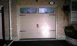 New insulated garage doors starting from 550 installed
