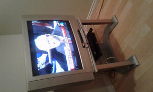 Older TV and Stand for Sale