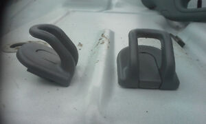 COAT HANGER HOOKS on HEADLINER for FORD F550 F450 F350 F250 Peterborough Peterborough Area image 1