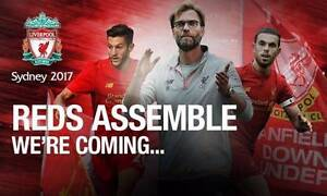 Section 145 Liverpool FC vs Sydney FC tickets x 3 - Corner View Chatswood Willoughby Area Preview