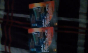 2 packs of Gillette fusion proglide plades