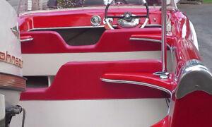 Fiberglass Gel-Coat Metal Flake Repairs and Restorations