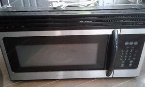 Over the range microwave, stainless (OTR)