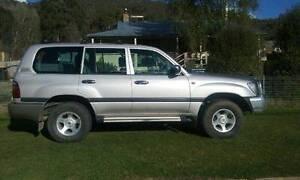 2002 Toyota LandCruiser Wagon Captains Flat Queanbeyan Area Preview