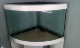 Fish tank corner fluval 190L