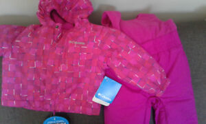 columbia snow suit brand new