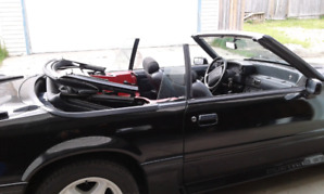 1988 STANG GT CONVERTIBLE 5.0 HO MANUAL 5 SPEED BLACK
