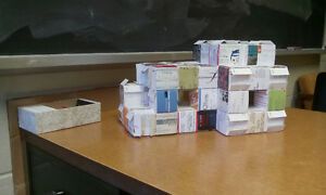 I want to construct using your old business cards! Kingston Kingston Area image 1