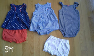 Carters summer outfit, dress 9M