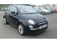 2011/61 Fiat 500 1,2 LOUNGE MET BLUE PAN ROOF SERVICE HISTORY