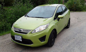 2011 Ford Fiesta SFE Sedan 1.6L 4Cyl Green