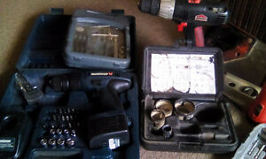 Small lot of hand and power tools