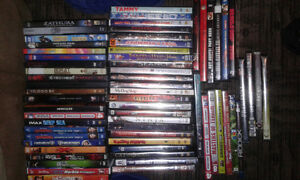 I am selling my dvds 3.00 each or $180 for lot obo