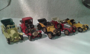 Collection of 5 Die Cast Vintage Cars - 'Models of Yesteryear' b