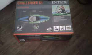INTEX  CHALLENGER inflatable kayak