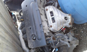 2001 Toyota Corolla engine and transmission