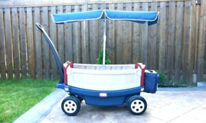 Little tikes relax and ride wagon