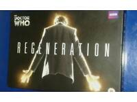 DOCTOR WHO REGENERATION NUMBERED LIMITED EDITION DVD COFFEE TABLE BOOK EDITION