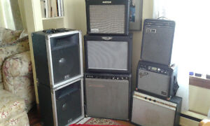 Variety of Amps/ Windsor Hantsport area