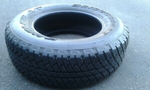 TIRE 255/70R18 used as a spare