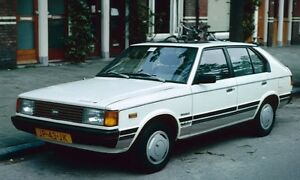 1985 Hyundai Pony or Stellar Hatchback