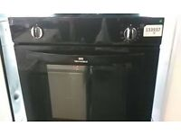 (ex display) NEW WORLD NW602V BLK Built in Electric Oven - Black
