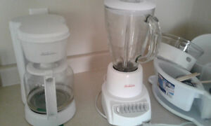 coffee maker and smoothie maker and rice cooker 6 months old
