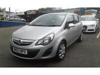 2013/63 Vauxhall/Opel Corsa1.4 EXCLUSIVE AUTOMATIC LOW MILEAGE 25k