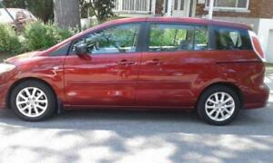 Mazda 5, 2009, 7 passagers , mags, cruise , PROPRE  3299$