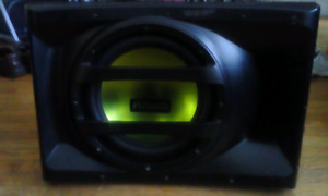 """FUSION"" SUB WOOFER / BUILT in AMP ...12 INCH SPEAKER"
