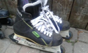 Bauer hockey rollerblades  4sale or trade