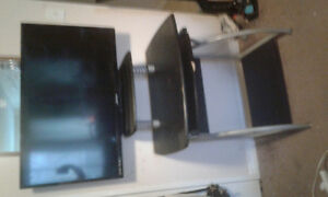 Black desk/ tv stand