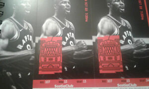 Raptors Home Game vs Hornets, Mon Oct 22, 7:30pm - Ticket Pair