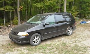 2003 Ford Windstar Minivan, retiring, $500 o.b.o. Needs tranny.