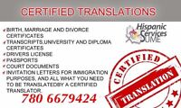 Affordable prices Certified and Notarized Translations