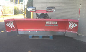 NEW WESTERN SNOW PLOW WIDE OUT 8 ft- 10 ft