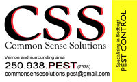 Common Sense Solutions .....Bedbugs