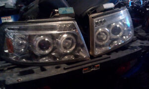 05 Ford Expidition after market headlights