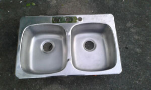 Evier double- Double Sink