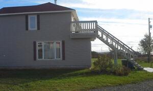 Beau logement 4 1/2 a louer vue sur la mer