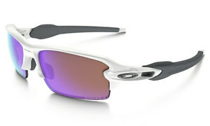 Oakley Sunglasses: Flak Jacket Polished White/Prizm 009295-06