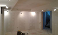 Drywall installations, taping filling and repairs