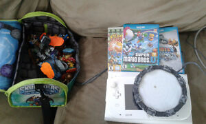 USED WII U with gamepad,games,and controllers