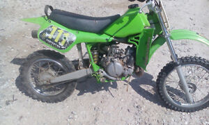 Kx65 dirtbike for sale