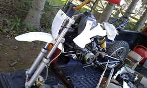 One Pit Pro Giovanni 125 and a basket bike+parts