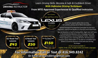 Driving instructor/ parallel parking specialist/ driving lessons