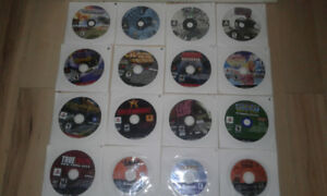 Ps one, ps2, gc, Xbox, pc games (loose) $5 each PICK UP ONLY