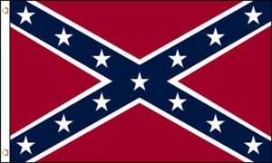 3x5 Foot Confederate (Rebel), Pirate, Rainbow, Red / Yellow Flag